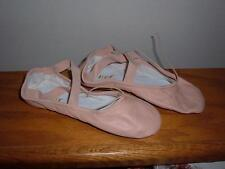 Bloch S0208L Ladies Prolite ll Leather Pink Ballet Slipper Size 3 B