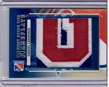 GABRIEL LANDESKOG 12/13 ITG 2013 Draft Prospects Nameplate Patch #1/1 SP 1 of 1