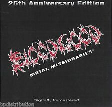 BLOODGOOD - METAL MISSIONARIES (CD, 2010) Rare Christian Metal Demo