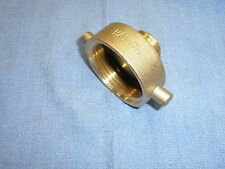 "Fire Hose Hydrant Adapter 1-1/2"" NST Female by 3/4"" Male GHT Dixon HA1576 Brass"