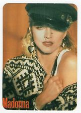 1993 Portugese Pocket Calendar US Pop Star Madonna Wearing Cap