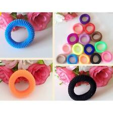 1Pcs Colors Women Elastic Hair Ties Band Ropes Ring Ponytail Holder Accessories