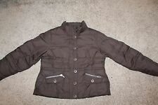 Eddie Bauer Woman's Sz L Premium 700 Fill Goose Down Puffer Quilted Coat Jacket