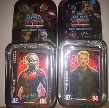 Marvel Hero Attax Cinematic Universe 2 Tins With Ant Man And Captain Amareica