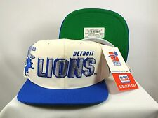 DETROIT LIONS NFL VINTAGE 90'S SNAPBACK SHADOW STITCH BY SPORTS SPECIALTIES