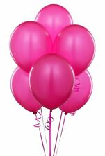 50 PACK OF 12 INCHES LATEX PINK BALLOONS PARTY WEDDING BIRTHDAY ANNIVERSARY