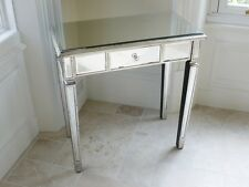 Venetian Mirrored Classic Style One Drawer Console Table