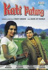 KATI PATANG - RAJESH KHANNA - ASHA PAREKH - NEW BOLLYWOOD DVD - FREE UK POST