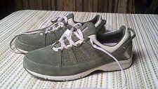 Land's End Sport Shoes men's size 8.5 Olive Green Lace