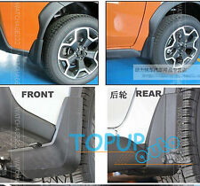 SET FIT FOR 2011~2015 SUBARU XV CROSSTREK MUD FLAPS SPLASH GUARDS MUDGUARD 2012