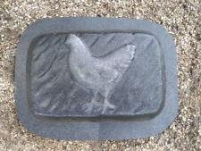 """gostatue MOLD chicken rain brick concrete plaster mould mold 9"""" X 6"""" X 2"""" thick"""