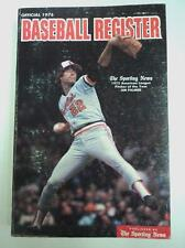 Sporting News 1976 Official Baseball Register Orioles Palmer Aaron FLASH SALE