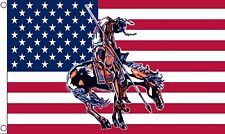 END OF THE TRAIL USA 5x3 feet FLAG 150cm x 90cm flags UNITED STATES OF AMERICA
