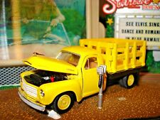 1951 STUDEBAKER STAKE BED TRUCK LIMITED EDITION  1/64 M2   FARMERS HELPER