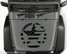 MILITARY STAR AMERICAN FLAG HOOD VINYL GRAPHIC DECAL JEEP FORD CHEVY DODGE