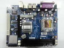 Intel G31 ( 945 )Chipset Motherboard, Support 775 sockect Processor & DDR2 Ram*