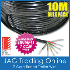 10M x 7-CORE MARINE GRADE TINNED TRAILER WIRE-AUTO/BOAT/CARAVAN ELECTRICAL CABLE