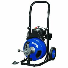 Commercial Auger Power Auto Feed Control Drain Snake Cleaner Pro Grade
