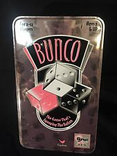 Bunco Dice Game Cardinal 2005 Pink Breast Cancer Tin Complete!!!