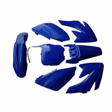 Fairing Plastic Body Kit Fenders Panels For 70cc Honda CRF70 Dirt Pit Bikes Blue