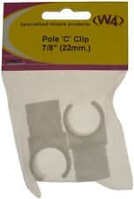 "W4 Pole Clip 7/8"", Clips, Tent & Awning Accessory"