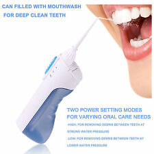 Portable Cordless Dental Oral Irrigator Electric Water Jet Flosser Oral Care