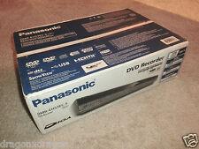 Panasonic dmr-eh53ec-s Dvd-Recorder/160gb HDD, SCATOLA ORIGINALE & Nuovo, 2 ANNI GARANZIA