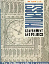 Cordell, Jim Government and Politics Very Good Book