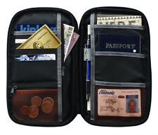 Lewis N. Clark RFID Document Organizer Passport & ID Case Wallet Holder