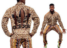 Adidas Originals X Jeremy Scott Firebird PANTS TRUCKSUIT Animal Leopard O21153 S