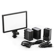 Viltrox L116T Studio LED Video Light Kit & 2pcs 8600mAh Li-ion Battery & Charger