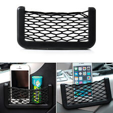 Car Storage Net String Bag Phone Holder Ticket Pocket Organizer For FORD FOCUS