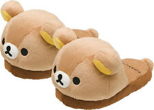 Officail Rilakkuma SAN-x Plush slippers Soft Cute Bear Winter Slippers