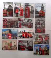 10 X Love London Union Jack London Eye Big Ben UK Souvenir Fridge Magnet 8cmX5cm