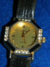 for parts Watch MONTRE dame FEMME lady uhr VINTAGE exacta SWISS