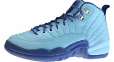 Nike Air Jordan 12 XII Retro GG SZ 9.5Y Blue Cap Purple Dust Hornet 510815-418