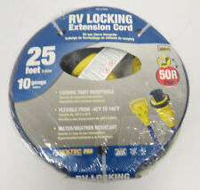 Voltec 16-00588 30/50 Amp RV Extension Locking Cord 25'