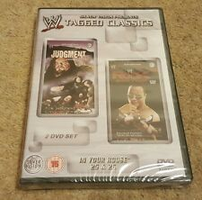 NEW & SEALED WWE Tagged Classics In Your House 25 & In Your House 26 DVD WWF