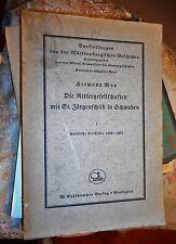 Hermann Mau: Die Rittergesellschaften mit St. Jörgenschild in Schwaben 1, 1941