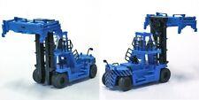 1/150 N Gauge Heavy Equipment Comfortable Forklift Truck Blue Fujimoto Hobby /