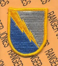 US Army 525th Military Intelligence Bde MI Airborne beret flash patch