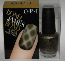 OPI JAMES BOND Magnetic Nail Lacquer Polish & Magnetizer JAMES BOND .5 oz