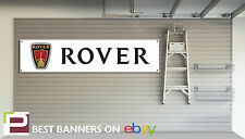 Rover Workshop Garage Banner SD1, P6, V8, 2000 TC, 200, 400, Gti