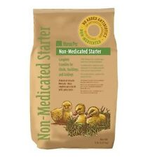 NON MEDICATED CHICK STARTER FEED 5# FOR CHICKEN POULTRY