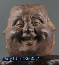 Collectibles Chinese Tibetan Buddhism Buddha head Statues