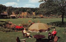WISCONSIN DELLS WISCONSIN BIRCHCLIFF LODGE~CHILDRENS PLAYGROUND POSTCARD 1960s