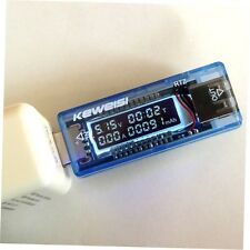 USB Volt Current Voltage Doctor Charger Capacity Tester Meter Power Bank GO