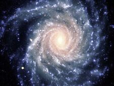 SPACE SPIRAL GALAXY UNIVERSE LARGE WALL ART PRINT POSTER PICTURE LF2343