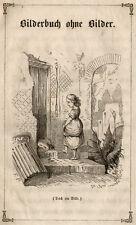 Andersen, H.C. Bilderbuch ohne Bilder. EA 1846