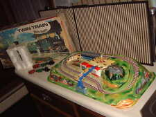 "1970 TECHNOFIX NR. 330 ""TWIN TRAIN"" 100% COMPLETE & WORKING W/ORIGINAL BOX!!"